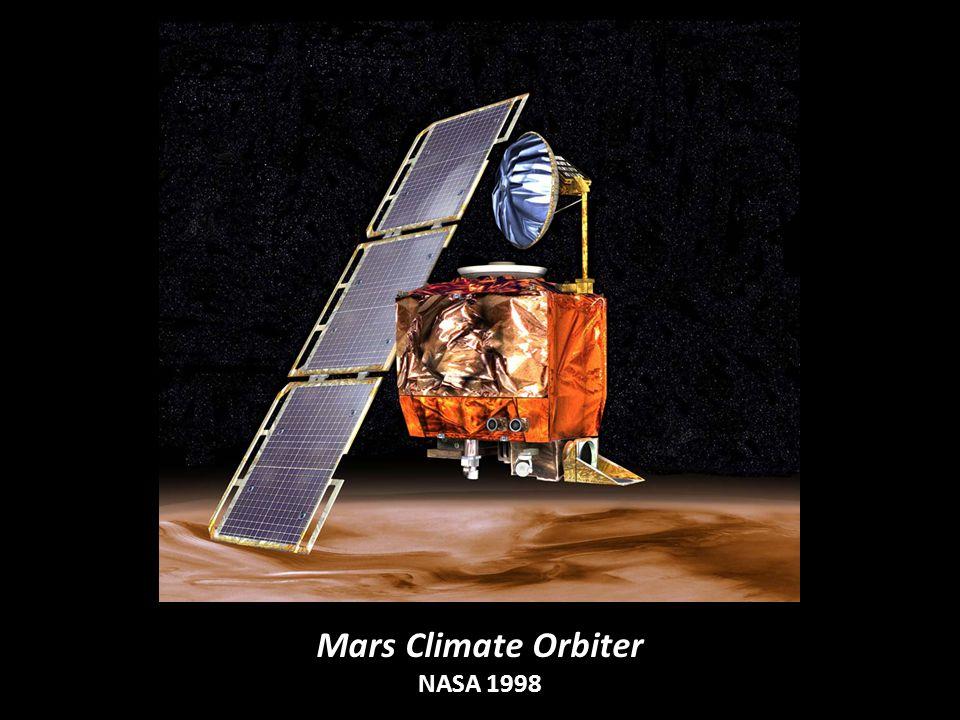 Mars Climate Orbiter NASA 1998