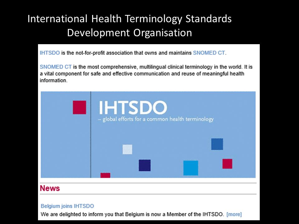 International Health Terminology Standards Development Organisation