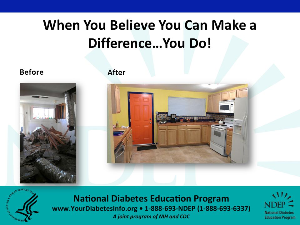 When You Believe You Can Make a Difference…You Do! Before After