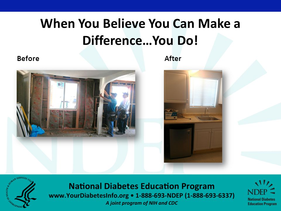 BeforeAfter When You Believe You Can Make a Difference…You Do!
