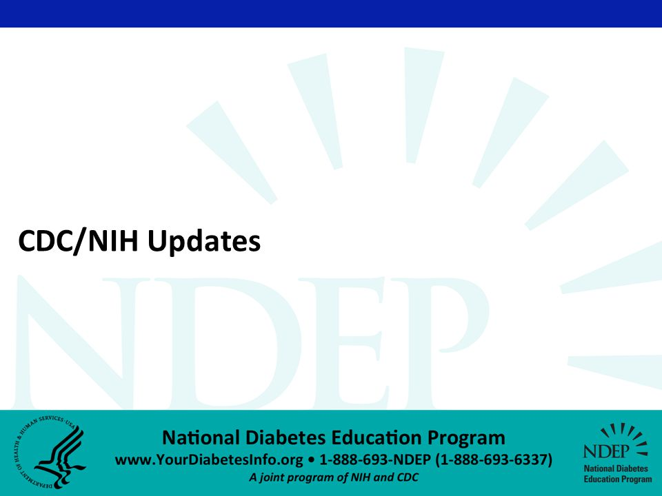 CDC/NIH Updates
