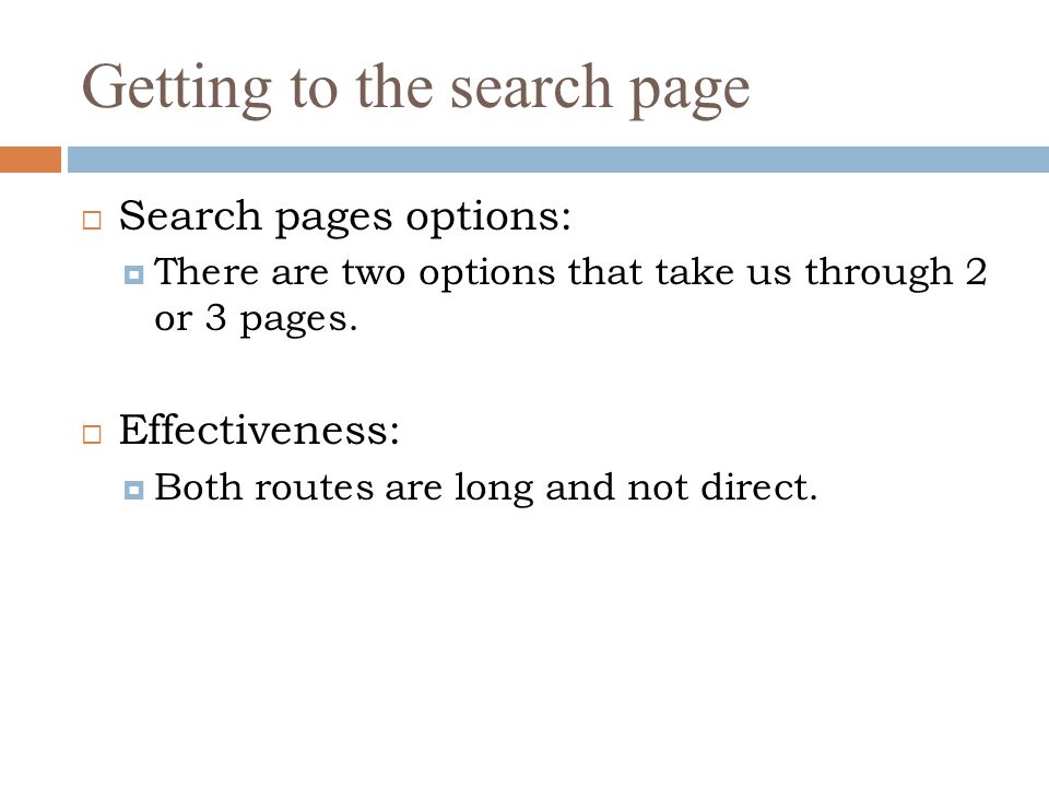 Search options  There are many options that we can choose from to search for jobs, but the advanced options do not work properly.