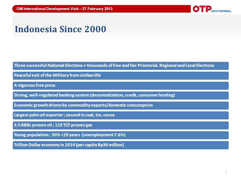 GM International Development Visit – 27 February 2013 18 Panyabungan 18