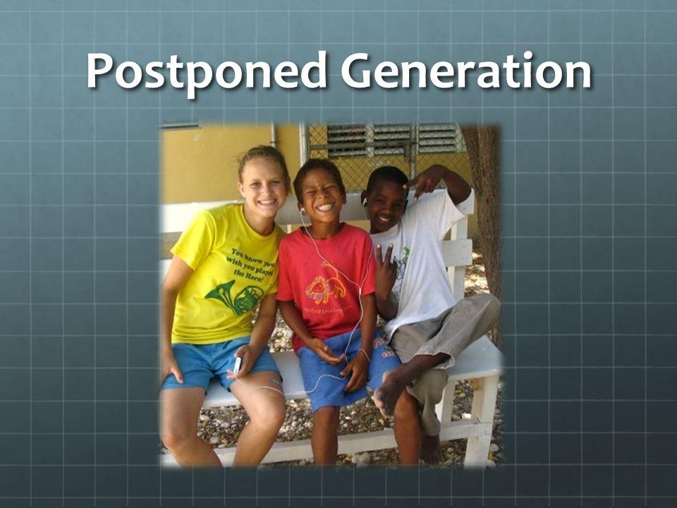 Postponed Generation