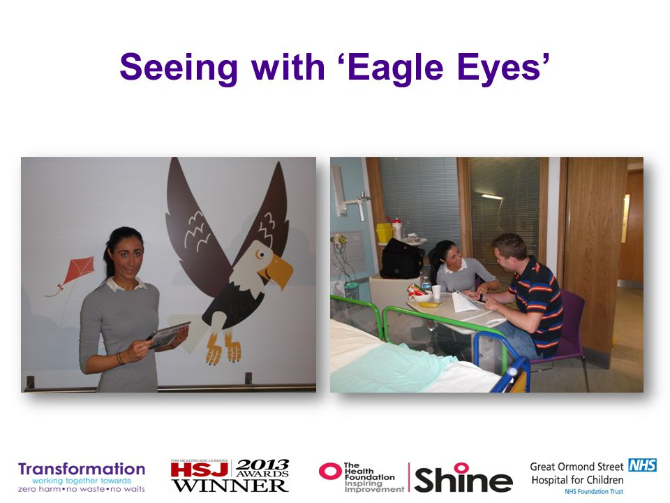 Seeing with 'Eagle Eyes'