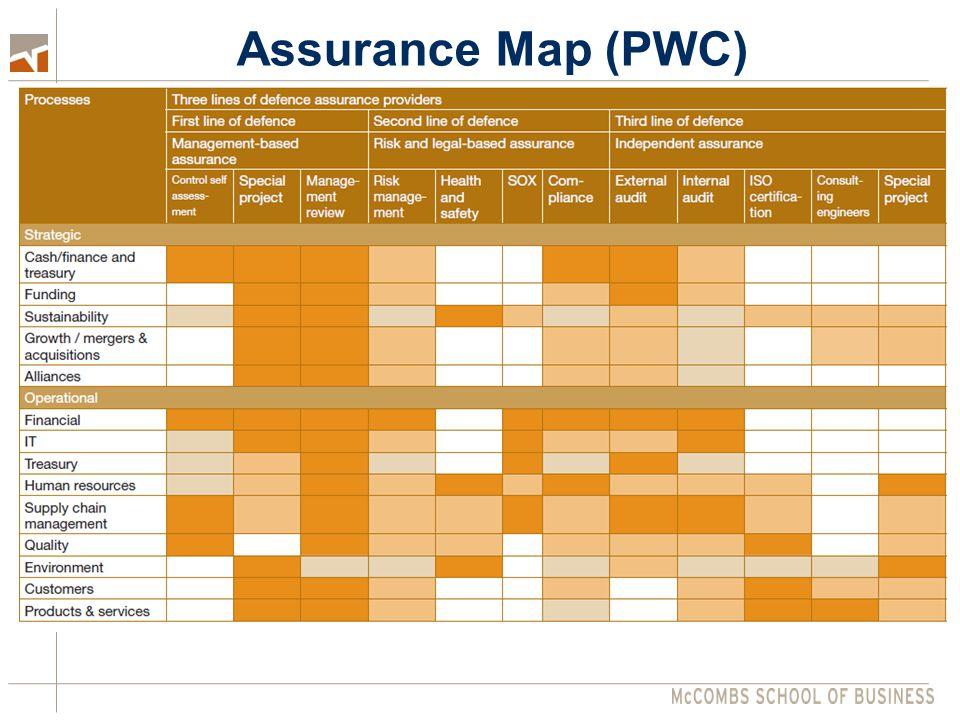 Assurance Map (PWC)