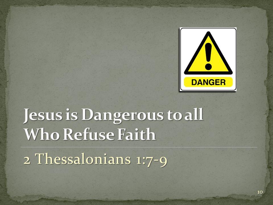 2 Thessalonians 1:7-9 10