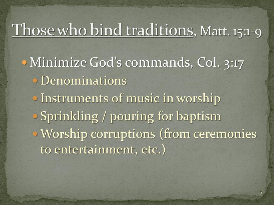 False teachers, 2 Cor.11:13-15 False teachers, 2 Cor.