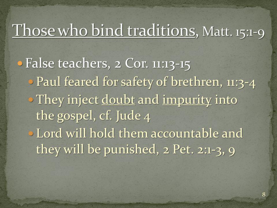 Hypocrites, Matt.23:14, 25-33 Hypocrites, Matt.