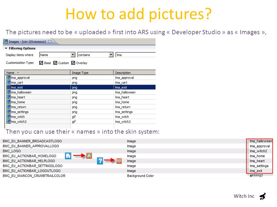 How to add pictures.