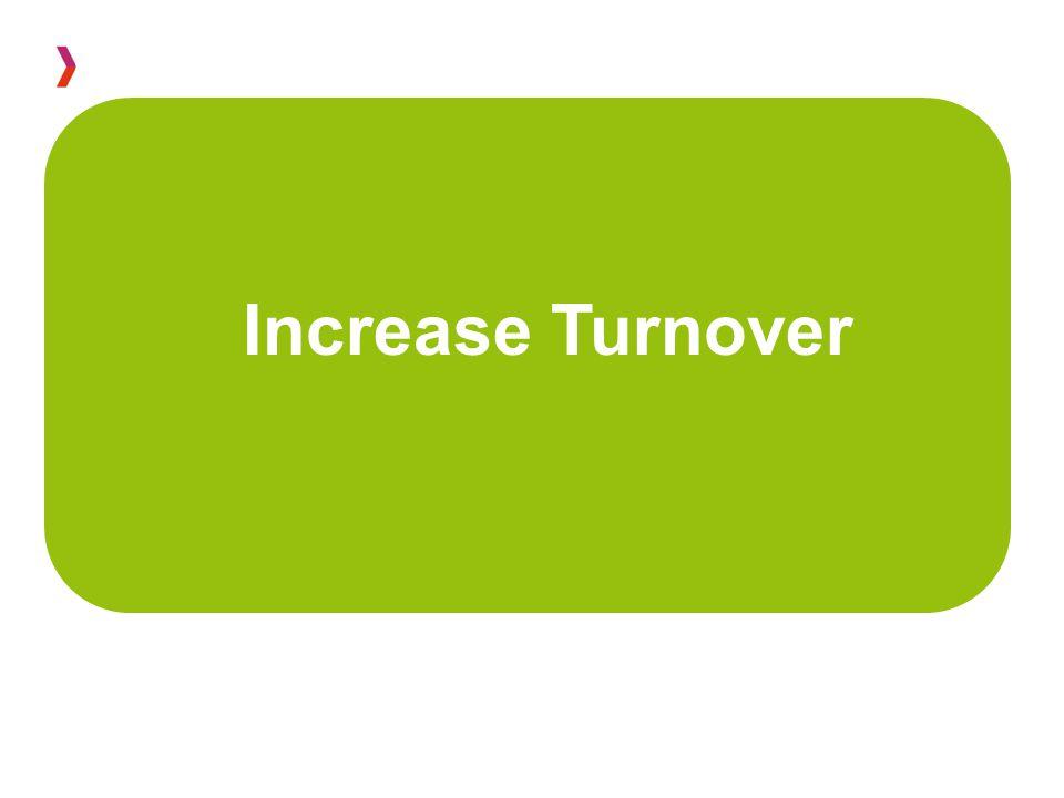 Increase Turnover