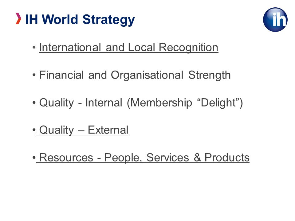 IH Quality Management