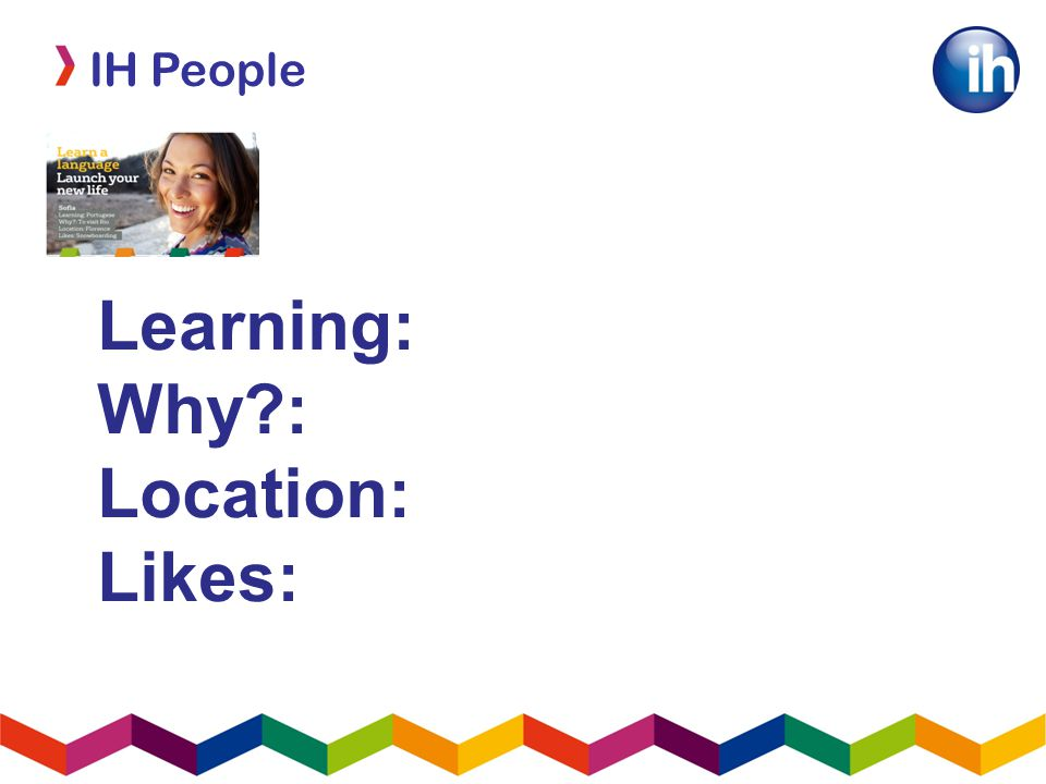 Learning: Why : Location: Likes:
