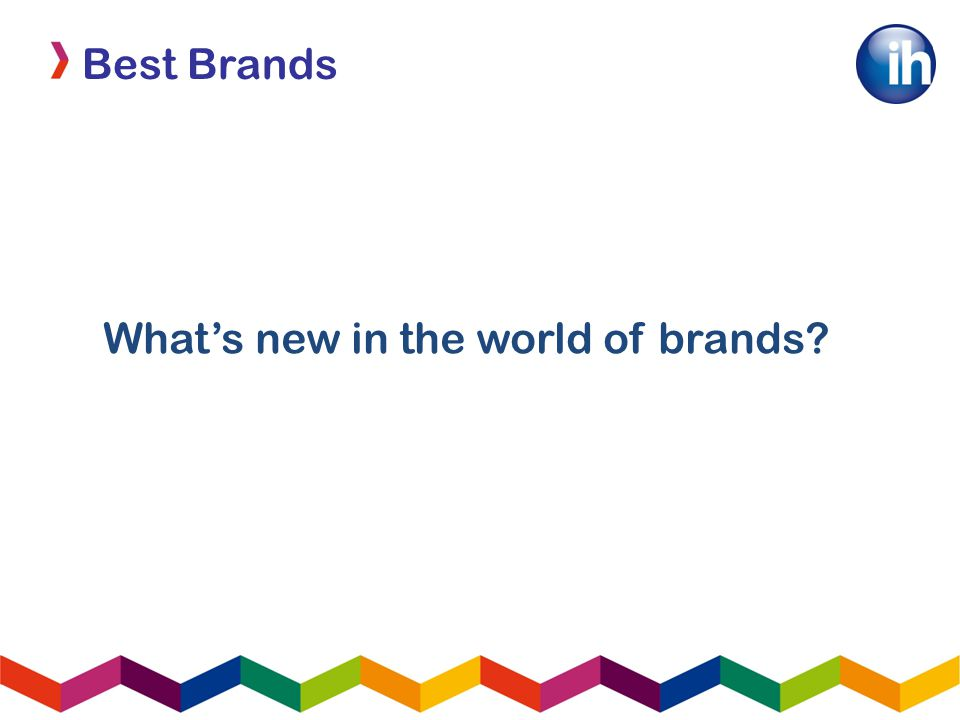 Best Brands What's new in the world of brands
