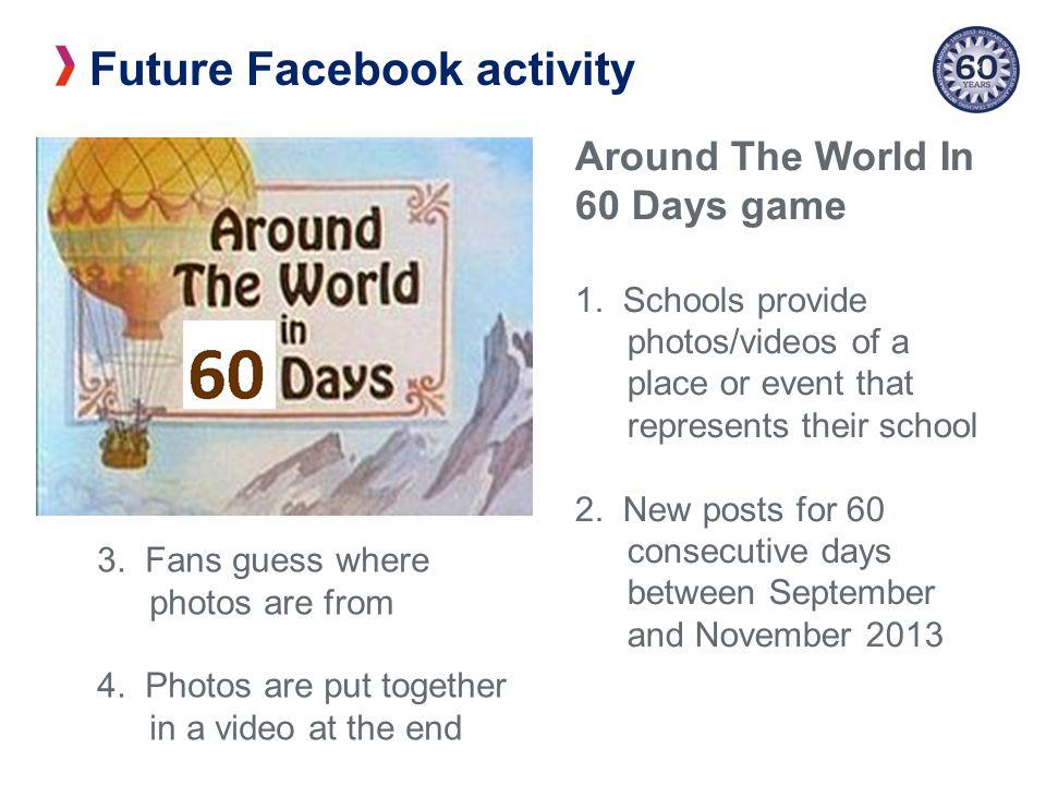 Future Facebook activity Around The World In 60 Days game 1.