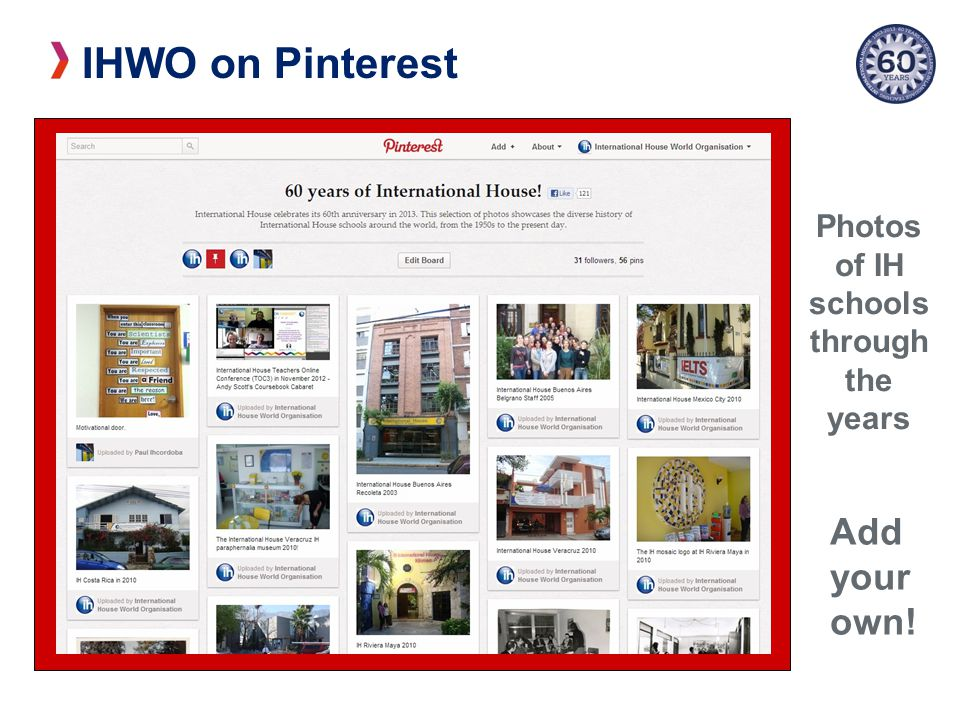 IHWO on Pinterest Photos of IH schools through the years Add your own!