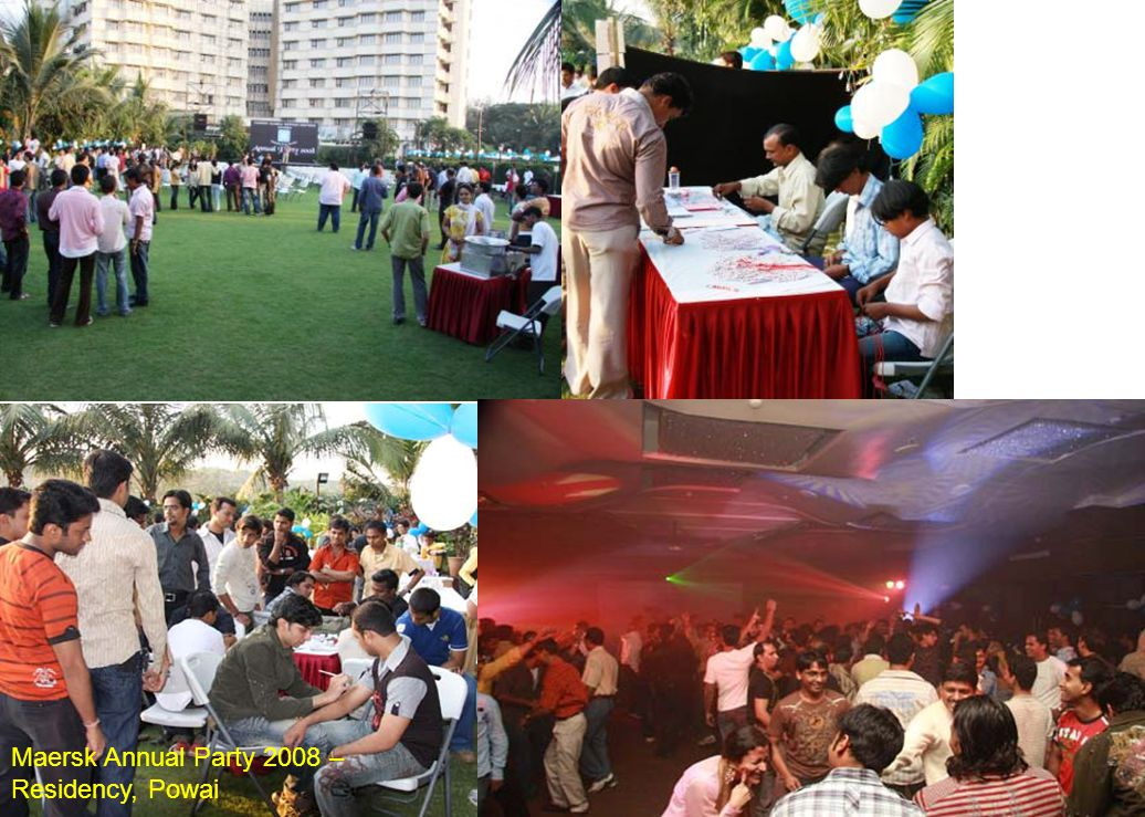 Maersk Annual Party 2008 – Residency, Powai