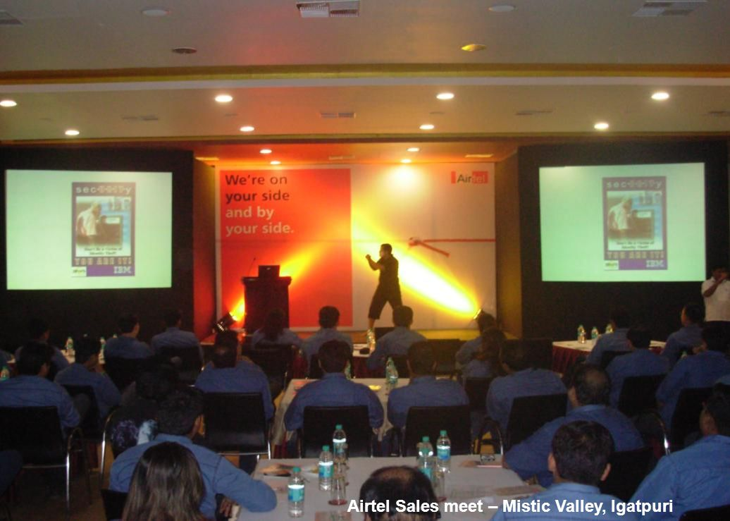 Airtel Sales meet – Mistic Valley, Igatpuri