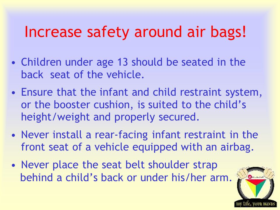 Transportation Tuesday Air Bags are here to Stay Despite controversies around Air Bags … Statistics prove … They Save Lives !.