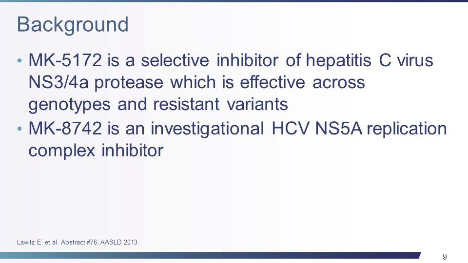 20 Interferon- and Ribavirin-free Regimen of ABT-450/r + ABT-267 in HCV Genotype 1b-infected Treatment-naïve Patients and Prior Null Responders Eric Lawitz 1, Christophe Hezode 2, Peter Varunok 3, Paul J.
