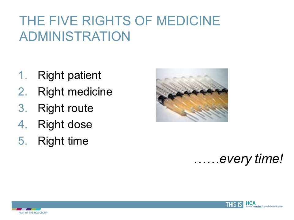 THIS IS WHY IV. Oral or other route of administration not suitable or available e.g.