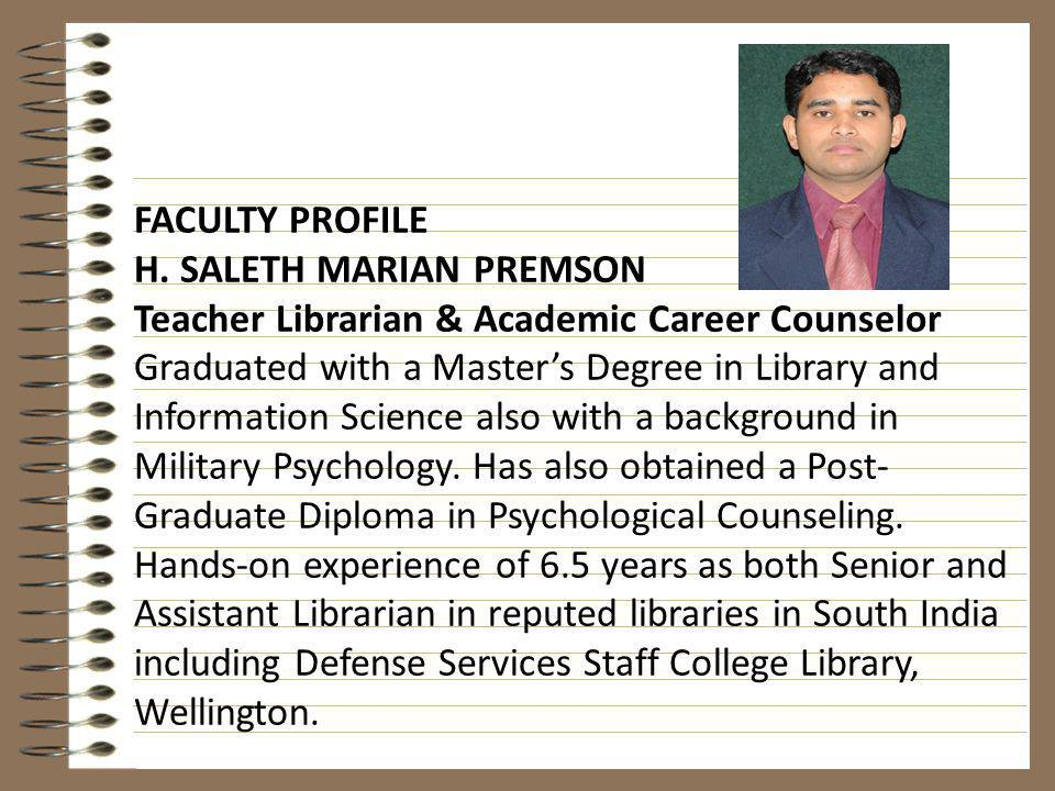 The IBO Learner Profile: An Information Literacy Model for DP Students/LibrariansLearner Profile