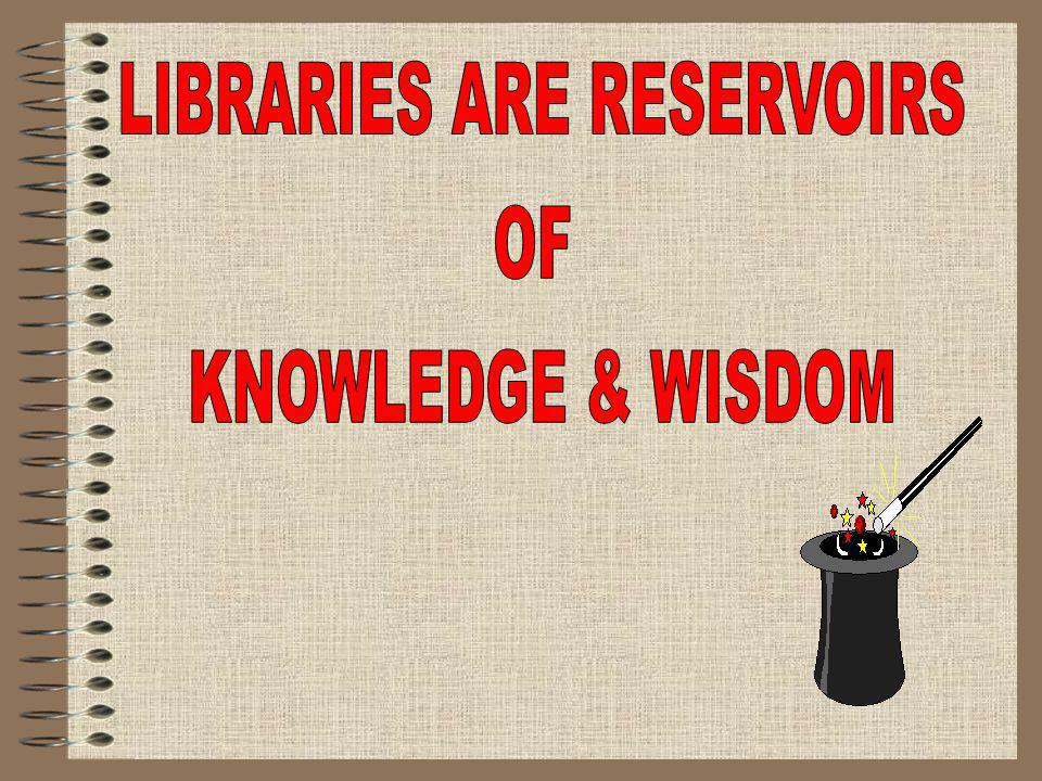 SIZE The JIRS library can accommodate about 50 students for browsing area and 20 students in reference section.