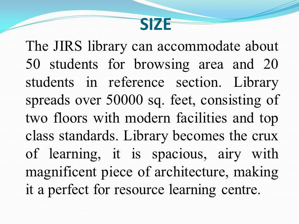 The DDC helps libraries arrange the items so that library users can find them.