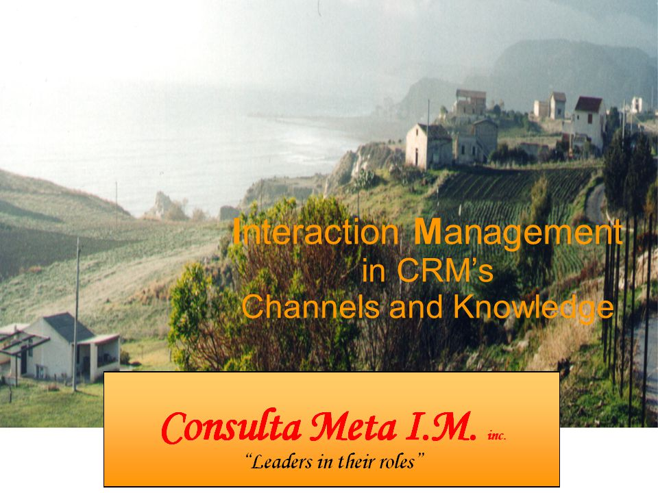 Interaction Management in CRM's Channels and Knowledge