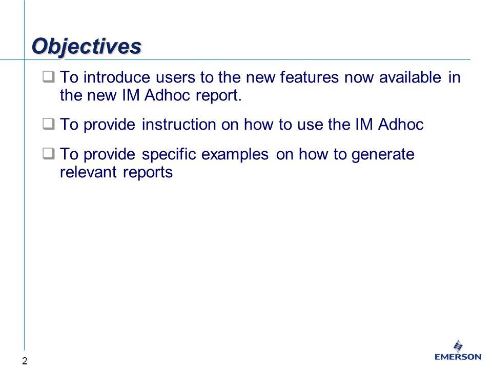 13 Sample Report: