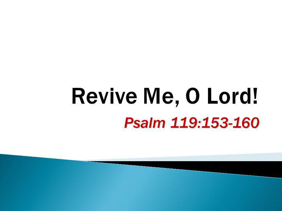 Psalm 119:153-160