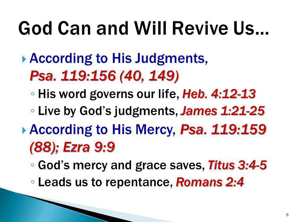 Eph.2:1-3, 5, 8  Respond in faith to God's grace, Eph.