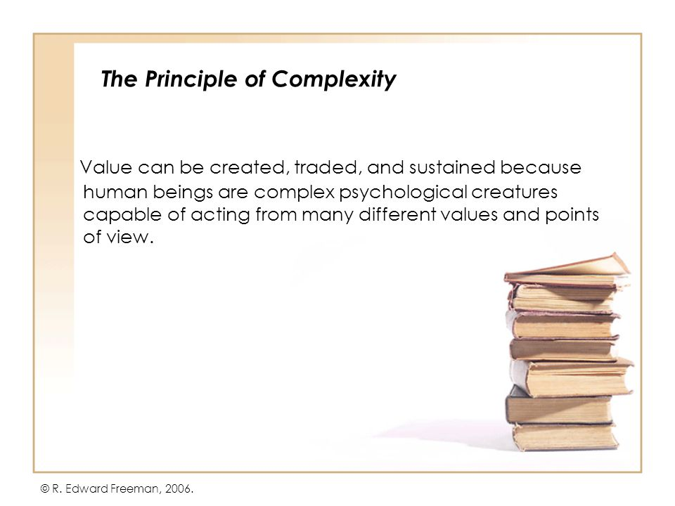 Two Subsidiary Principles The Principle of Continuous Creation The Principle of Emergent Competition © R.