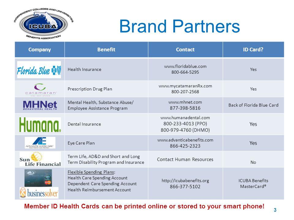 CompanyBenefitContactID Card.