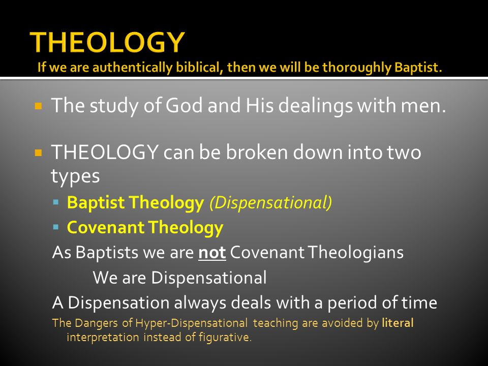 2 Timothy 2:15 Study to shew thyself approved unto God, a workman that needeth not to be ashamed, rightly dividing the word of truth. Every Christian should know how to rightly divide the word of truth.