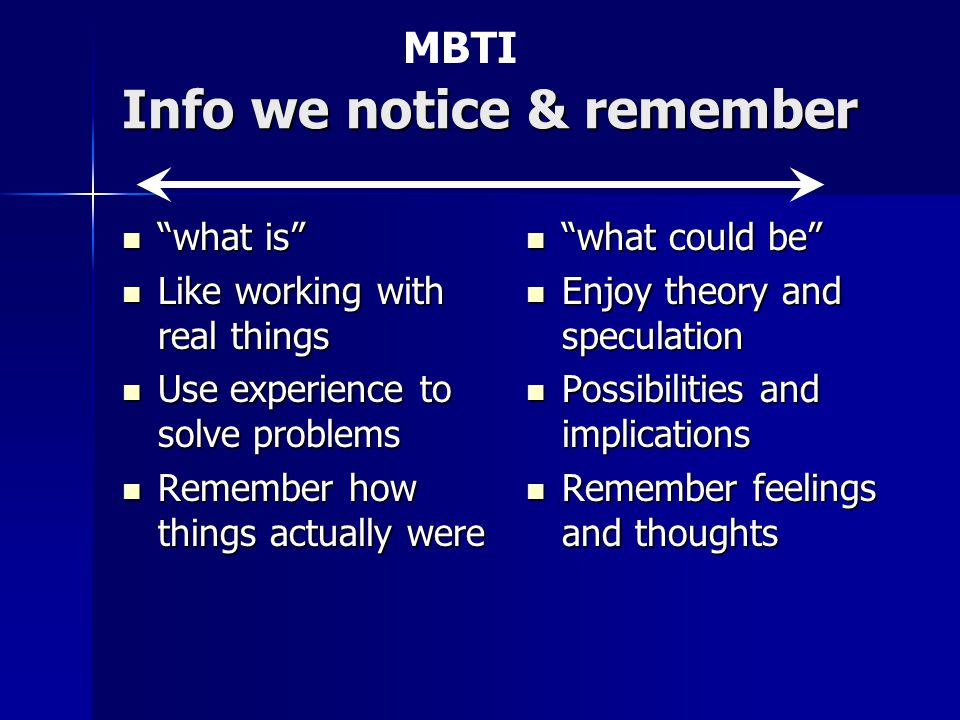 """Info we notice & remember """"what is"""" """"what is"""" Like working with real things Like working with real things Use experience to solve problems Use experie"""