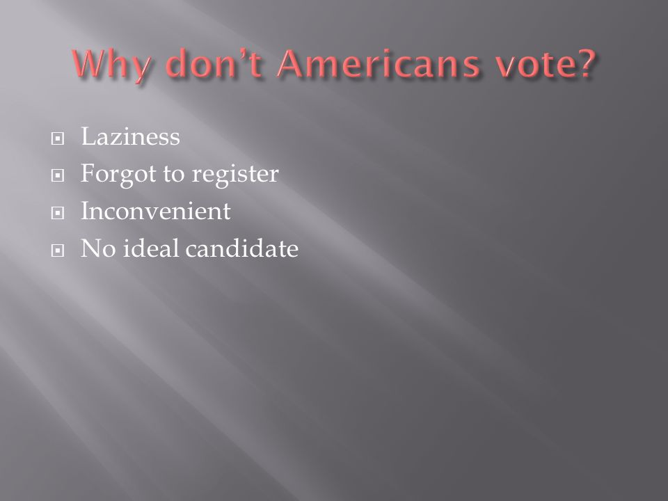  40.1% of all Americans voted in the 2008 election.