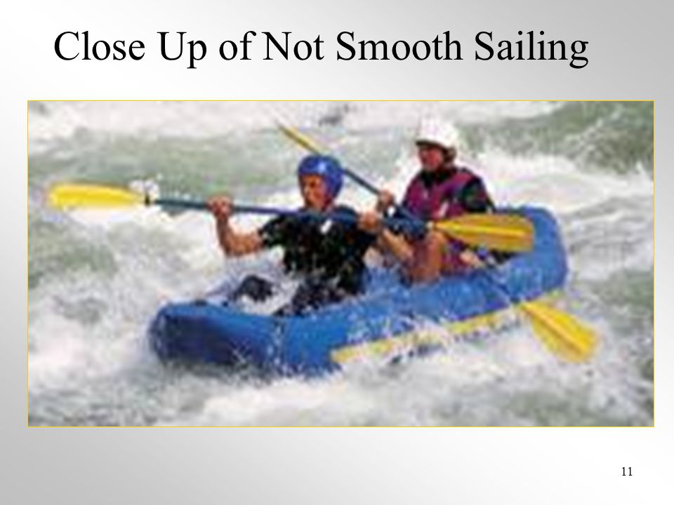 Close Up of Not Smooth Sailing 11