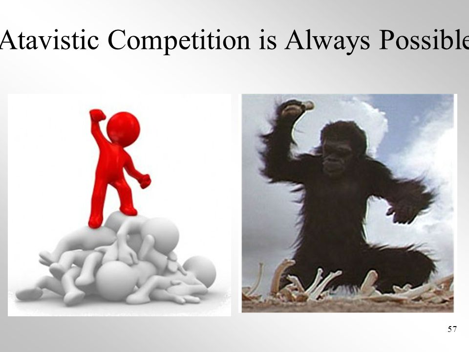 Atavistic Competition is Always Possible 57