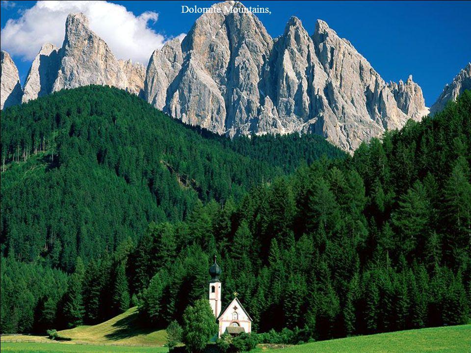 South Tyrol, Dolomites,