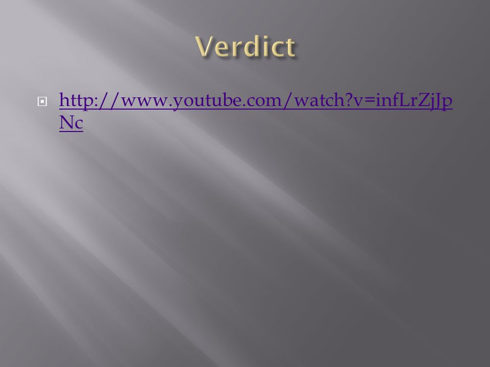  http://www.youtube.com/watch v=infLrZjJp Nc http://www.youtube.com/watch v=infLrZjJp Nc