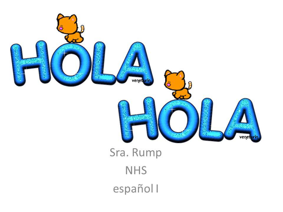 Sra. Rump NHS español I