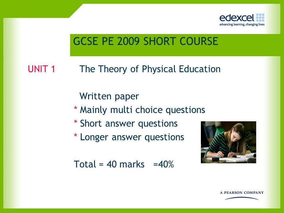 Controlled Assessment – Analysis of Performance Task Marking Teacher/assessor to mark each component using assessment criteria (See pages 46-48 in the specification) (See pages 46-48 in the specification) Quality of Written Communication (QWC) PEPs Written tasks, Presentations marks recorded Work retained by centre Exemplar material (Page 39 – Teacher's Guide)(Page 39 – Teacher's Guide)