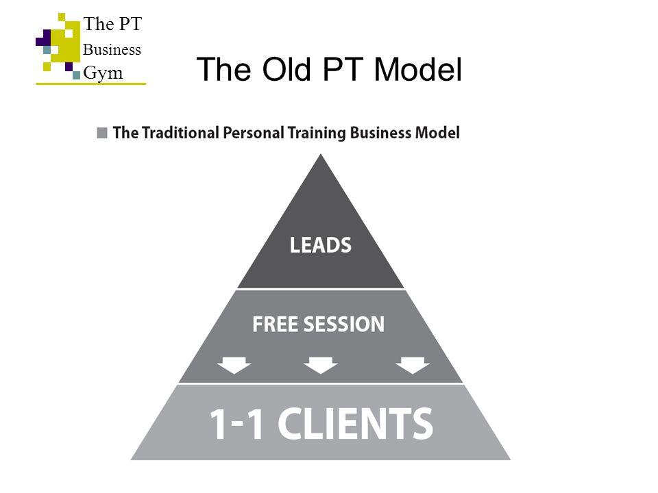 The PT Business Gym The Old PT Model