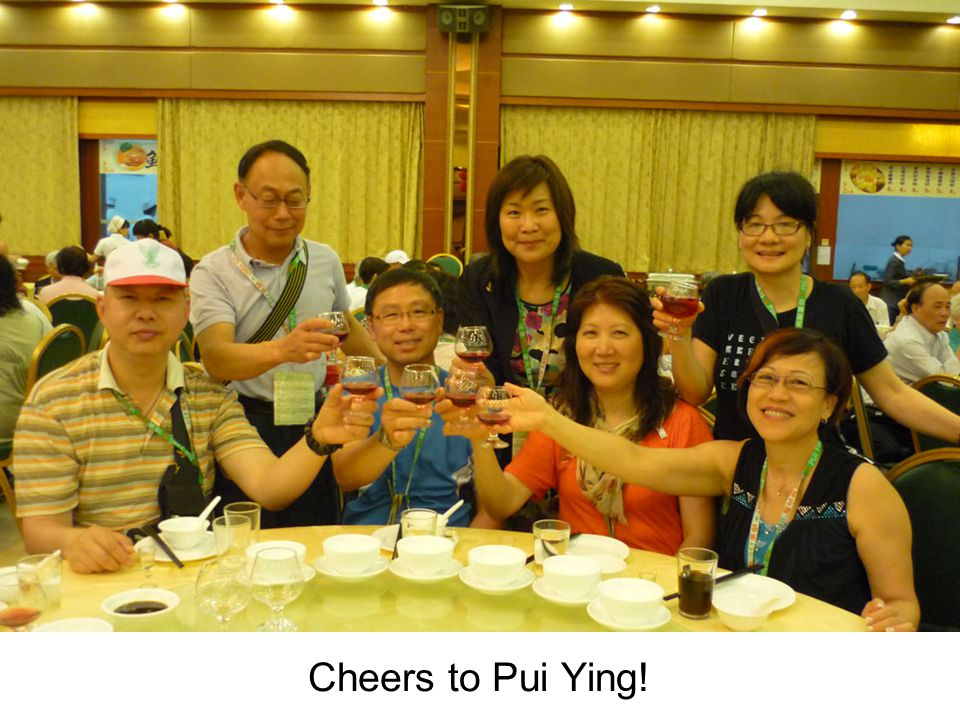 Cheers to Pui Ying!