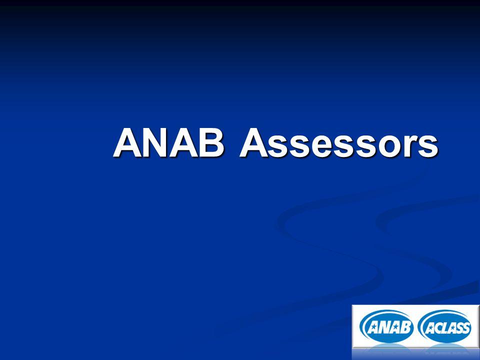 ANAB Assessors