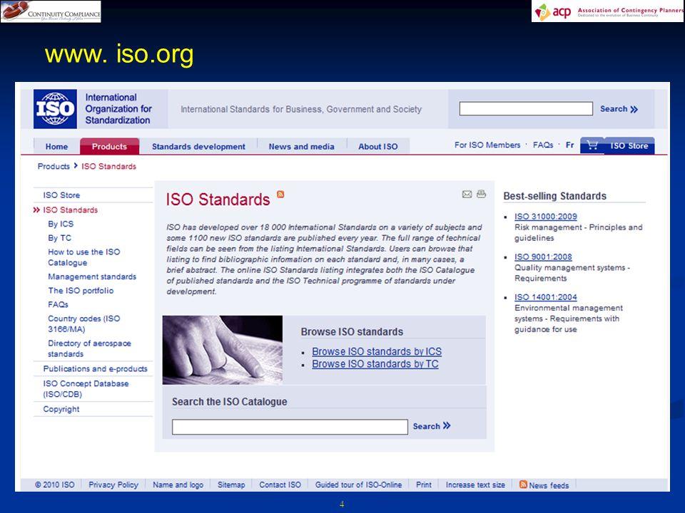 4 www. iso.org