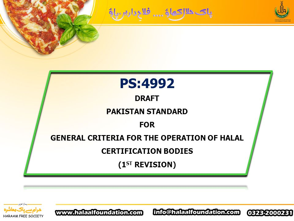 12.5 The certification body shall ensure that in decision making process at least one Sharia Advisor and Technical expert in food technology be part of the team.