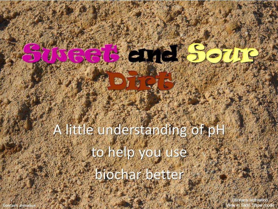Soils Have Flavors.