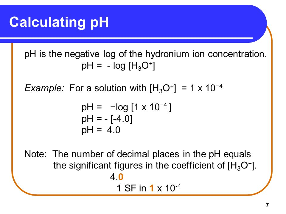18 A.What is the [H 3 O + ] of a solution with a pH of 10.0.